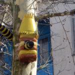 Кормушки-скворечники из пластиковых бутылок