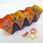 Коробки оригами