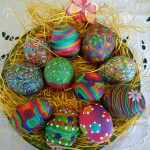 Идеи украшения яиц (продолжение)