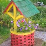 Колодец для цветов