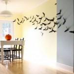 Хэллоуин с летучими мышами