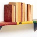 Полки и другая функциональная мебель из книг