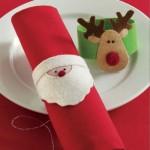 Рождественские кольца для салфеток