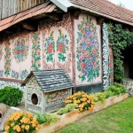 Польская фольк-деревня