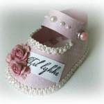 Бумажная детская обувь