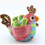 Цыплята, курочки и петушки для пасхального декора