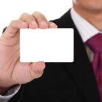 Размеры визитных карточек