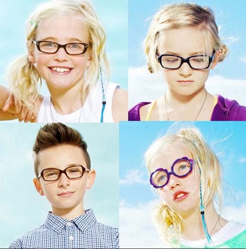 Как подобрать детские очки?