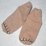 Вязаные носочки для любимых деток