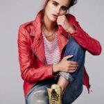 Косухи ярких цветов: тренд в женской одежде для осени 2014
