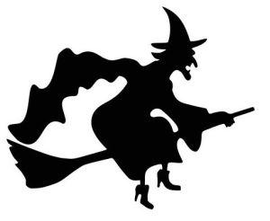 Силуэтный Хэллоуин