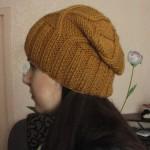 Мастер-класс по вязанию шапочки с узором «ромбы»