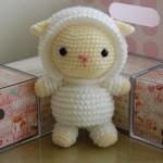 Вязаные овечки — идеи для воплощения