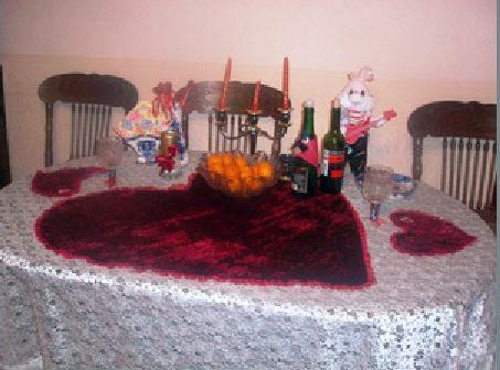 Праздничная скатерть