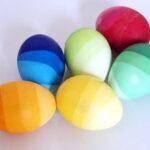 Пасхальные яйца омбре