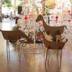 Новогодние символы — картонные олени