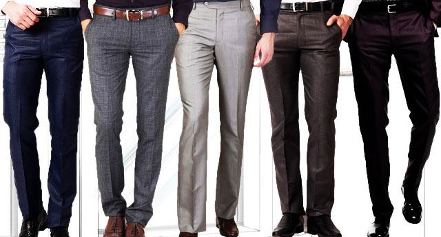 Правильный выбор качественных мужских брюк