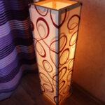 Как сделать дизайнерский светильник