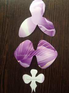 Орхидея из бумаги