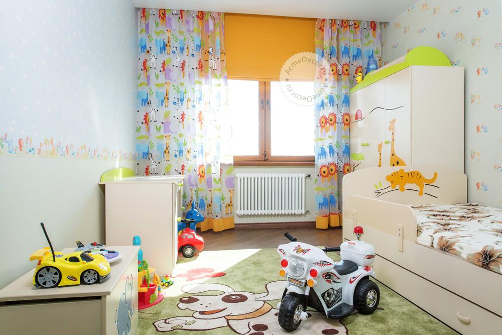 шторы для детской от Акмэ