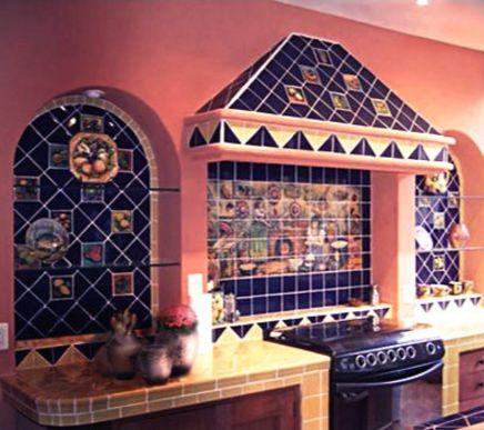 Интерьер кухни в мексиканском стиле