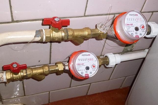Порядок установки квартирных водомеров