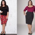 Как выбрать юбку полным женщинам?