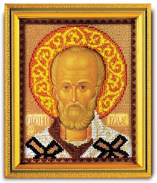 Набор для вышивки крестиком Николай Чудотворец