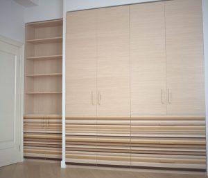 Шкаф из МДФ с наборным шпоном