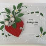Красивые открытки с аппетитной клубникой