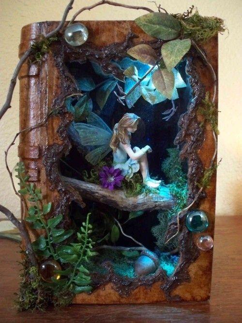 Сказочные миниатюры для домашнего декора