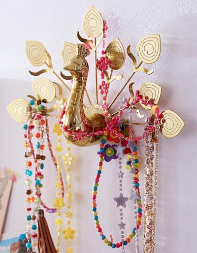 Павлиньи аксессуары для домашнего декора