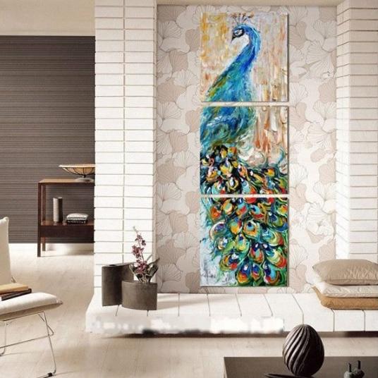 Павлинья тема: предметы интерьера для домашнего декора