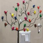 Фисташковые птички для детской комнаты