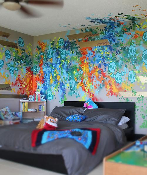Весёлая роспись канадского художника-граффити Dudeman