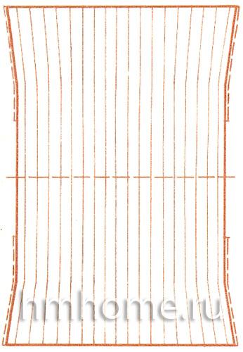 Кофта-квадрат из шерсти