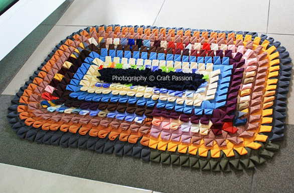 Хэндмейд коврики ручной работы