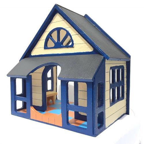 Миниатюрные домики для птиц