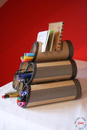 Лучшие идеи использования картонных трубочек