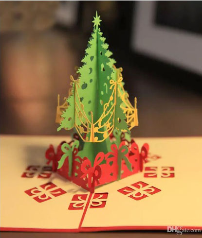 3D открытки в технике Pop UP