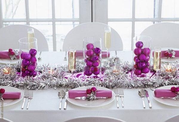 Королевский цвет на праздничном столе - 20 идей