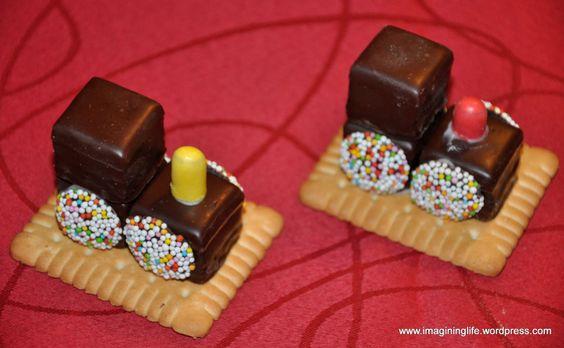 Детские сладости из печенья и конфет
