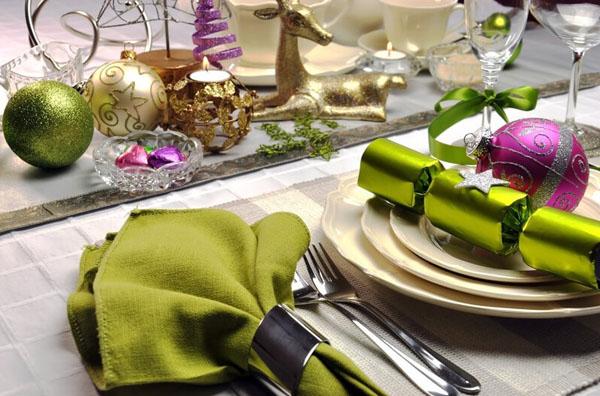 Королевский цвет на праздничном столе
