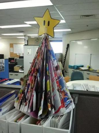Идеи для новогоднего оформления офиса