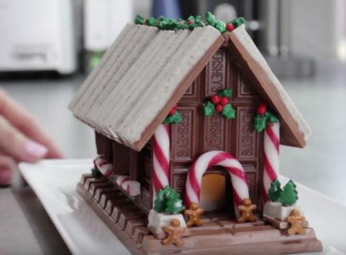 Шоколадный пряничный домик