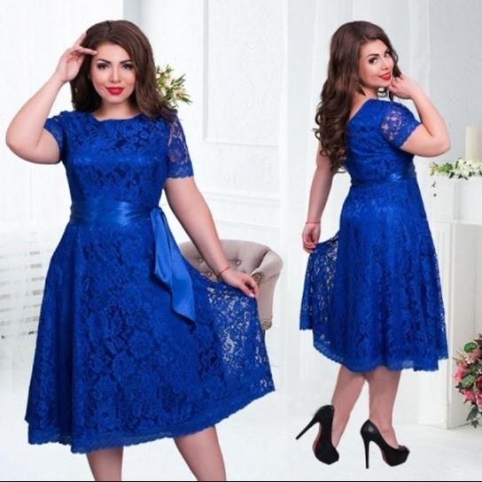 Как выбрать платье для полных женщин