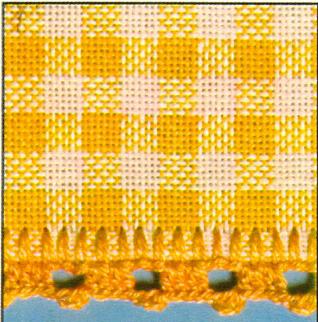 Тканевые вышитые салфетки