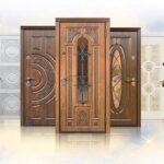 двери с отделкой винорит