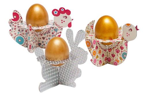 Картонные подставки для яиц