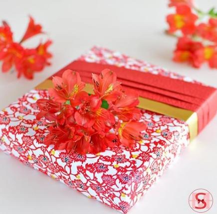 Подарочная упаковка для летних праздников
